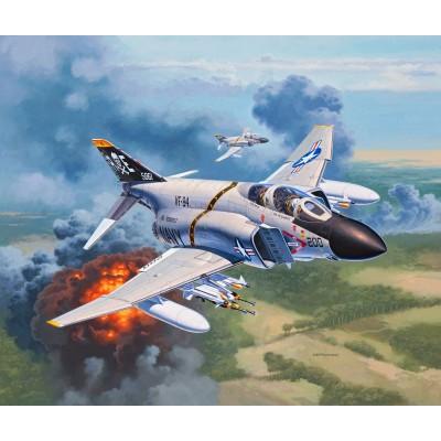 MCDONELL DOUGLAS F-4J PHANTOM II - ESCALA 1/72 - REVELL 03941