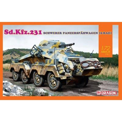 SD.KFZ.231 8 RAD - ESCALA 1/72 - DRAGON 7577