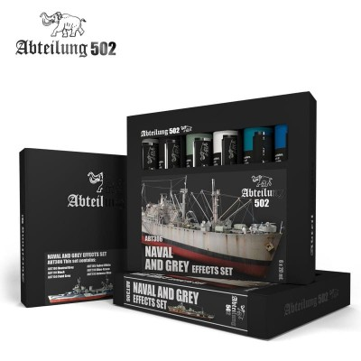 SET OLEOS NAVAL AND GREY EFFECTS (6 x 20 ml) - Abteilung 502 ABT306