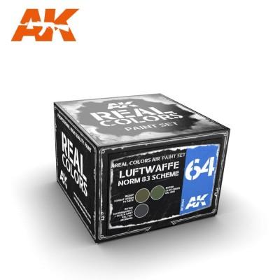 LUFTWAFFE NORM 83 SCHEME SET - AK Interactive RCS064