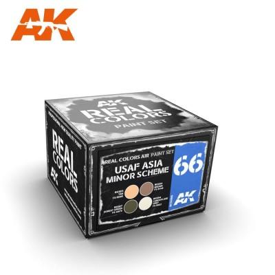 USAF ASIA MENOR SCHEME COLORS SET - AK Interactive RCS066