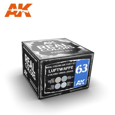 LUFTWAFFE COLORS 1990 - 2000 SET - AK Interactive RCS063