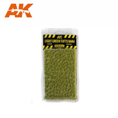 LIGHT GREEN TUFTS (6 mm) - AK Interactive AK8118