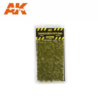 SUMMER GREEN TUFTS (2 mm) - AK Interactive AK8124