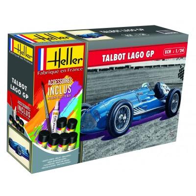 TALBOT LAGO GP (Pegamento & Pinturas) -1/24- Heller 56721