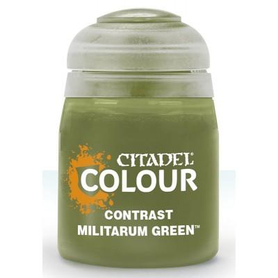 Contrast: MILITARUM GREEN (18 ml) - Games Workshop 29-24