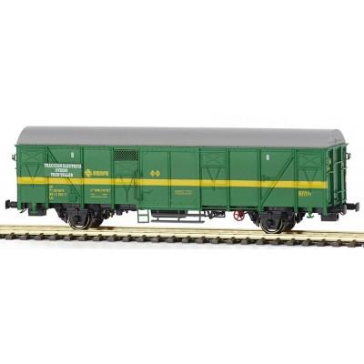 Vagón Tren Taller Jcev 600701, color verde, Ep. IV. MABAR 81824 H0