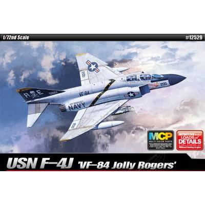 USN F-4J VF-84 JOLLY ROGERS - ESCALA 1/72 - ACADEMY 12529