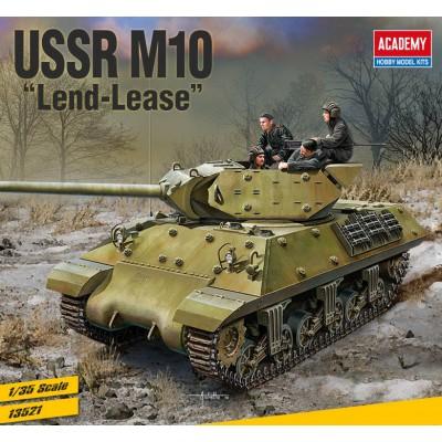 M-10 USSR LEND-LEASE - ESCALA 1/35 - ACADEMY 13521