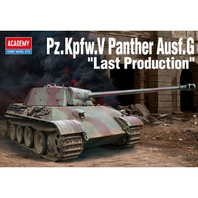 Pz.Kpfw.V PANTHER AUSF.G LATE PRODUCTION - ESCALA 1/35 - ACADEMY 13523