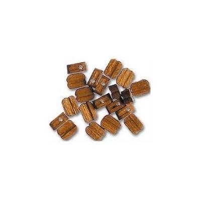 MOTON NOGAL 3mm (18 unids) - NAVAL 407003
