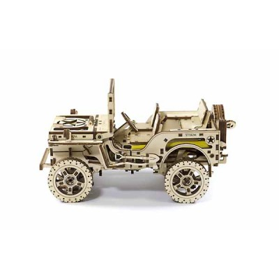 JEEP 4X4 KIT DE MADERA - PIEZAS 570 - WOODEN CITY