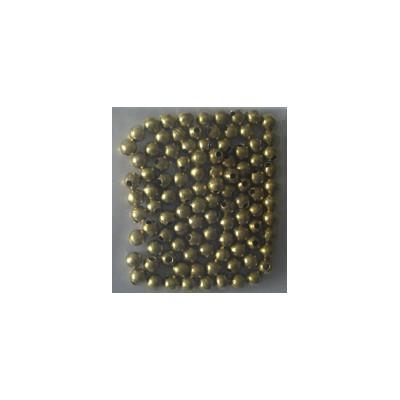 BOLAS LATON 2mm CON AGUJERO - (20 unids) AMATI 438202