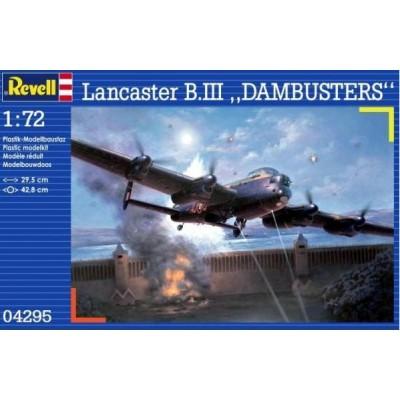 "AVRO LANCASTER MK-III ""DAMBUSTERS"" -1/72- Revell 04295"