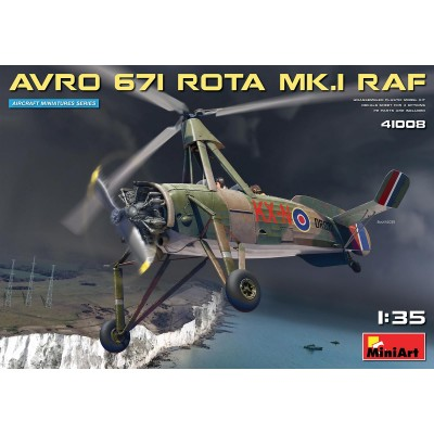 AVRO 671 ROTA MK-I (Cierva C.30) RAF -1/35- Miniart Model 41008