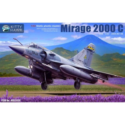 DASSAULT MIRAGE 2000 C & PILOTO -1/32- Kitty Hawk KH32020