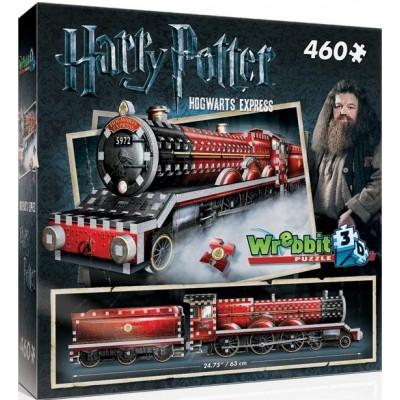 PUZZLE 3D HARRY POTTER EXPRESO DE HOGWARTS - 460 PIEZAS - WREBIT 01009