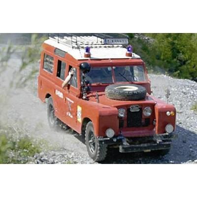 LAND ROVER BOMBEROS -1/24- ITALERI 3660