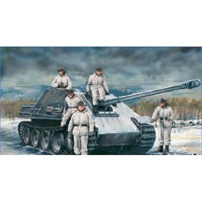 CAZACARROS Sd.Kfz. 173 JAGDPANTHER & Tripulantes -1/35- Italeri 6564