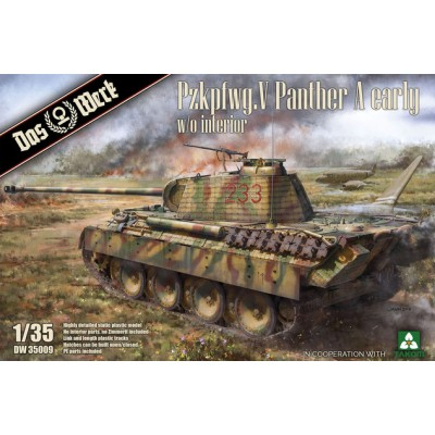 CARRO DE COMBATE SD.KFZ 171 PANTHER A (Early) -1/35- Das WERK DW35009