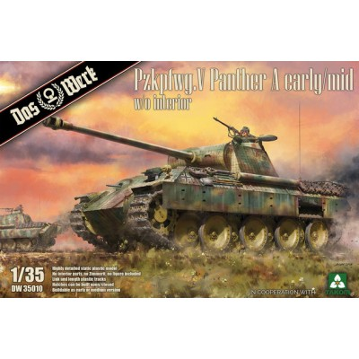 CARRO DE COMBATE SD.KFZ 171 PANTHER A (Early / Mid) -1/35- Das WERK DW35010