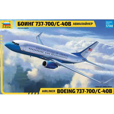 BOEING 737-700 / C-40C - ESCALA 1/144 - ZVEZDA 7027