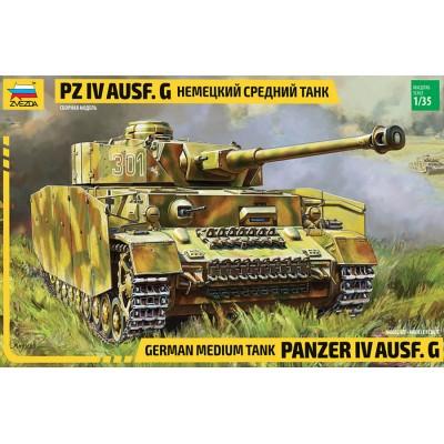 PANZER IV AUSF.G -- ESCALA 1/35 - ZVEZDA 3674