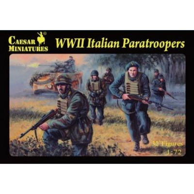 PARACAIDISTAS ITALIANOS -1/72- Caesar Miniatures H075