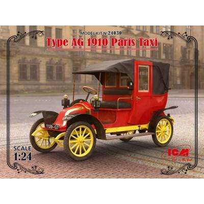 RENAULT Type AG 1910 TAXI Paris 1/24 ICM 24030