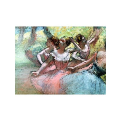 PUZZLE 1000 PZAS FOUR BALLERINAS ON THE STAGE-DEGAS- 50X70 cms - ravensburger 14847