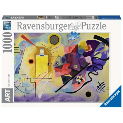 PUZZLE 1000 PZAS YELLOW, RED, BLUE 1925 KANDINSKY - 50X70 cms - ravensburger 14848