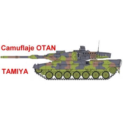 SET COLORES CARROS OTAN / NATO