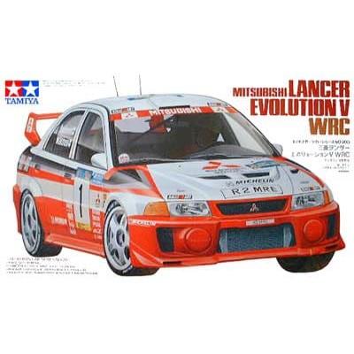 MITSUBISHI LANCER EVO V. WRC -1/24- Tamiya 24203