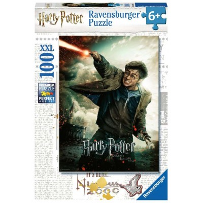 PUZZLE 100 PZS XXL HARRY POTTER EN ACCION - RAVENSBURGER 12869