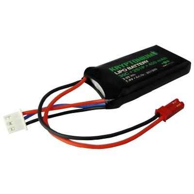 BATERIA LIPO 7.4V 450MAH 30C CONECTOR BEC - YUKI 801300