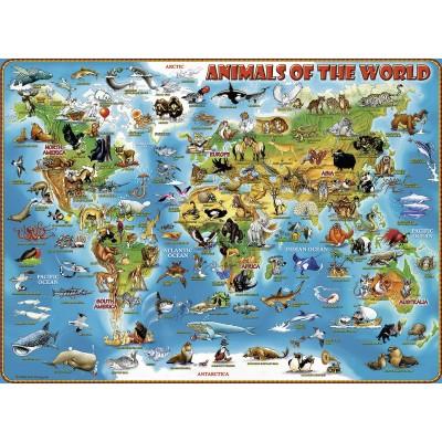 PUZZLE 300 PIEZAS XXL ANIMALES DEL MUNDO - RAVENSBURGER 13257