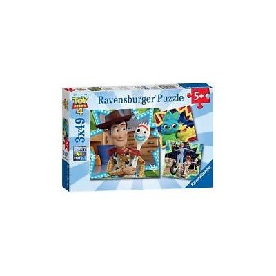 PUZZLE 3 X 49 PIEZAS TOY STORY - RAVENSBURGER 08038