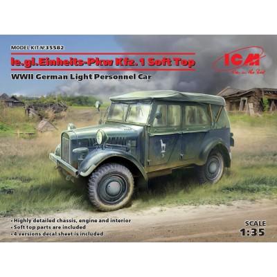 VEHICULO TODOTERRENO Sd.Kfz. 1 (Soft Top) -1/35- ICM 35582