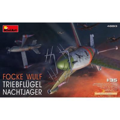 FOCKE-WULF TRIEBFLUGE NACHTJAGER -1/35- MiniArt Model 40013