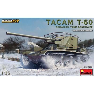 CAZACARROS TACAM T-60 (Rumania) -1/35- MiniArt Model 35230
