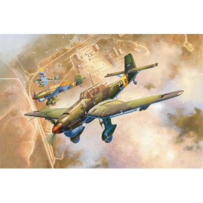JUNKERS JU-87 B2 STUKA -1/24- Trumpeter 02421