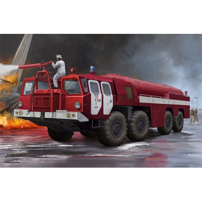 CAMION BOMBEROS AA-60 (MAZ-7310) 160.01 -1/35- Trumpeter 01074