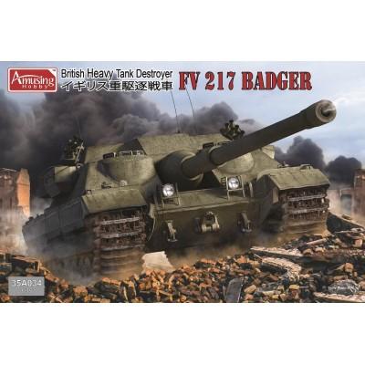 CAZACARROS FV.217 BADGER -1/35- Amusing Hobby 35A034