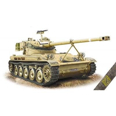 CARRO DE COMBATE AMX-13/75 -1/72- Ace Model 72445