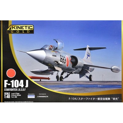 LOCKHEED F-104 J STARFIGHTER (Japon) -1/48- Kinetic K48080