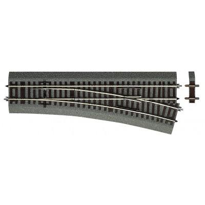 VIA RLB DESVIO RECTO (L: 230,00 mm) DERECHA (R: 873,50 mm) 15º - Roco 42533