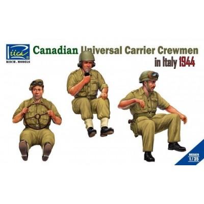 TRIPULACION CANADIENSE UNIVERSAL CARRIER (Italia 1944) -1/35- Riich Model RV35029