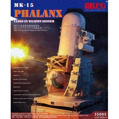 MONTAJE ANTIAEREO MK.15 PHALANX SEARAM -1/35- RPG Models 35005
