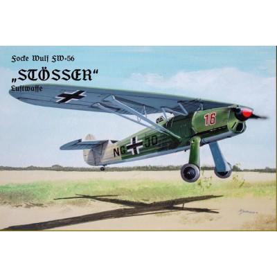 FOCKE WULF Fw-56 STOSSER -1/48- Attack 48005