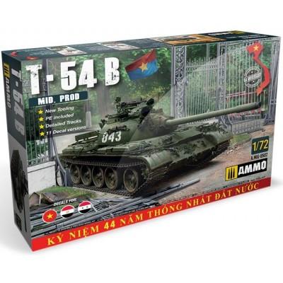CARRO DE COMBATE T-54 B (Mid) -1/72- Ammo MIG 8502